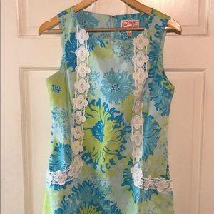 Lilly Pulitzer Originals shift dress lion size 8